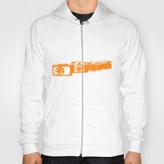 Orange photo Hoody