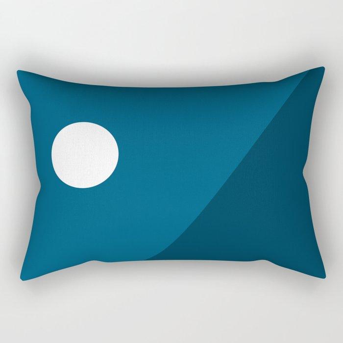 Geometric Landscape 06 Rectangular Pillow