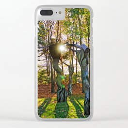 Magical Light Clear iPhone Case