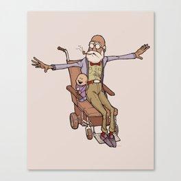 Wheelchair Wonder Canvas Print