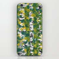 birch iPhone & iPod Skins featuring Birch by AhaC