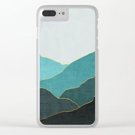 Minimal Landscape 04 Clear iPhone Case