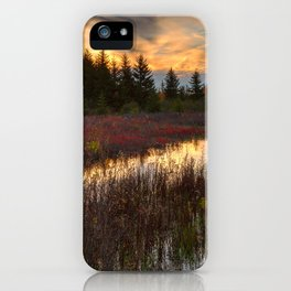 Autumn Dolly Sods Sunset iPhone Case