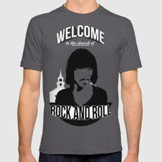 Foxy Shazam - Welcome to the Church of Rock and Roll Mens Fitted Tee Asphalt MEDIUM