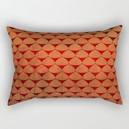 Autumn Dreams, Abstract Landscape Art Rectangular Pillow