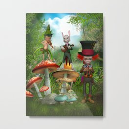 Night Concert Metal Print