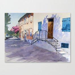 Quai Jean Jaurès Canvas Print