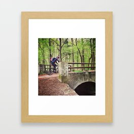 Don't stop.  Framed Art Print