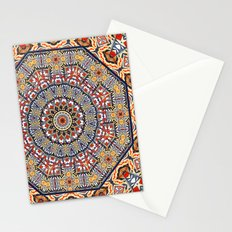 Pottery Tile Kaleidoscope Stationery Cards