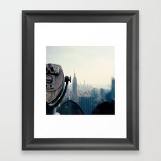 Empire State Building NYC Framed Art Print