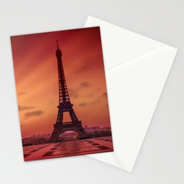 Eiffel Tower at Sunrise Stationery Cards