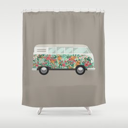 Hippie van Shower Curtain