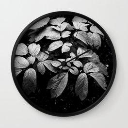 Monochrome Droplet Wall Clock