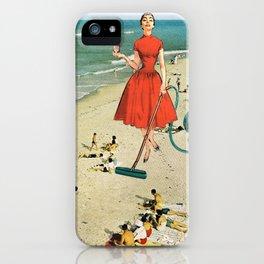 Floor Cleaner iPhone Case