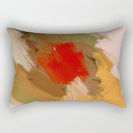 Hunting the White Dwarf in the Red forest no. 3 Rectangular Pillow