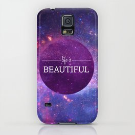 Life is Beautiful iPhone Case