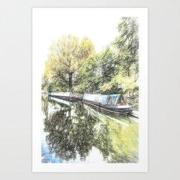 Little Venice London Art Art Print