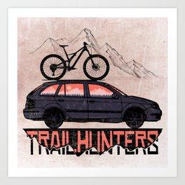 Trailhunters Art Print