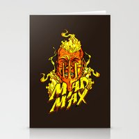 mad Stationery Cards featuring Mad by Demonigote