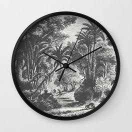 Indian Jungle Wall Clock