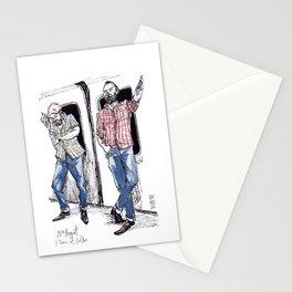 Urban Lumberjacks by Kat Mills Stationery Cards