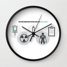 Chemo Super powers! Wall Clock
