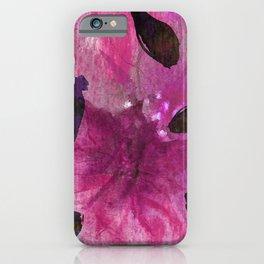Watercolor Fuchsia Mirage iPhone Case