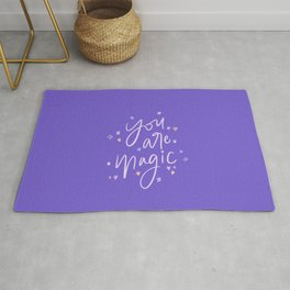 You are Magic // in Purple Rug