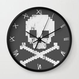 8 Bit Pirate Wall Clock