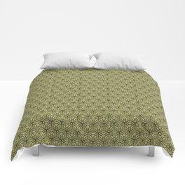 Yellow Apples Pattern Comforters