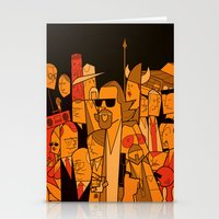 the big lebowski Stationery Cards featuring The Big Lebowski by Ale Giorgini
