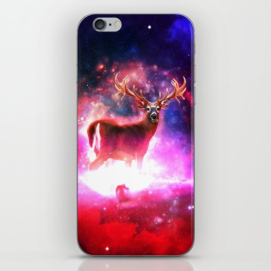 Cosmic Deer iPhone & iPod Skin