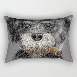 Fidel - The Havanese is the national dog of Cuba Rectangular Pillow