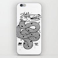 snake iPhone & iPod Skins featuring Snake  by Borneo Modofoker