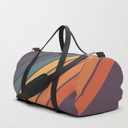 Classic 70s Style Retro Stripes - Dalana Duffle Bag