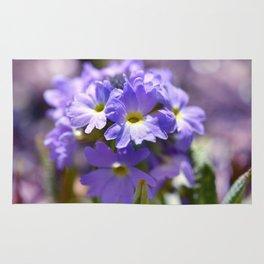 Purple Primrose Rug