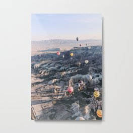 Kapadokya, Turkey #society6 #decor #buyart Metal Print