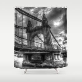 Hammersmith Bridge London Shower Curtain