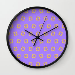 Yellow Frame - Friends. Wall Clock