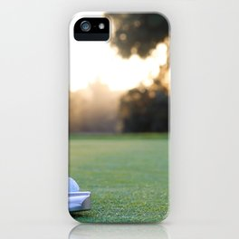 putting for par iPhone Case