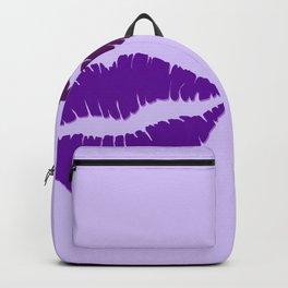 Two dark violet Kisses Backpack