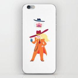 Zoot Suit Samus iPhone Skin