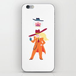 Zoot Suit Samus iPhone Skin