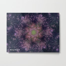 Vortex Universe Metal Print