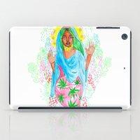 nicki iPad Cases featuring Virgin Mary (Jane) by AnnaToman