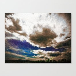 Clouds #lightroom #society6 #buyart Canvas Print