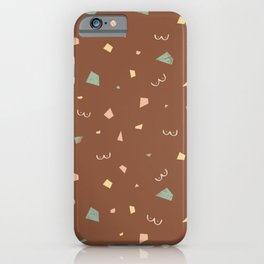Boobie Terrazzo iPhone Case