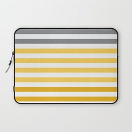Stripes Gradient - Yellow Laptop Sleeve