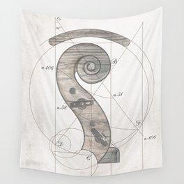 musical geometr.eye Wall Tapestry