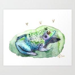 Lily Padded Art Print